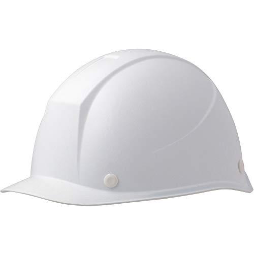 ミドリ安全 ヘルメット 女性用 小サイズ 作業用 FRP製 LSC11F KP付(αライナー) スーパーホワイト