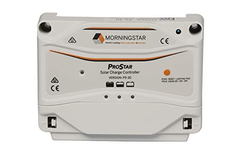 Morningstar - ProStar 15A PWM Solar Charge Controller for 12V/24V Batteries, Lowest Fail Rate in The Industry, Built-in Diagnostics, (PS-15M)