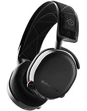SteelSeries Arctis 7, förlustfritt gamingheadset med DTS Headphone:X v2.0 Surround för PC och PlayStation 5/4 - svart