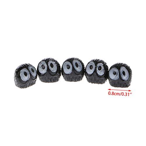 Rongzou Tuingereedschap Zwarte Elfen Figuur Ornament Miniatuur Pop Speelgoed Poppenhuis Bonsai Terrarium Decor