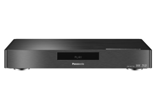 Panasonic DMP-BDT700EG9 Premium 3D Blu-ray-Player (4K Upscaling, WLAN, DLNA, Miracast, VoD, 2x HDMI, SD-Kartenslot, USB, NAS) schwarz
