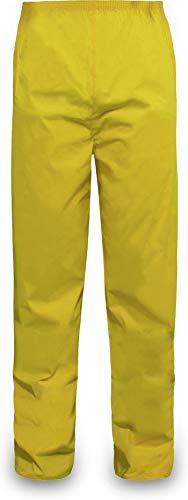 normani Outdoor Sports Regenhose für Damen und Herren wasserdicht 5000 mm für Wandern, Gassi gehen, Angeln oder Fahrad Fahren Farbe Gelb Größe XL