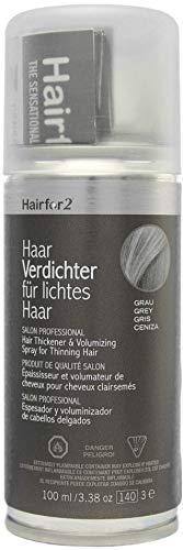 Hairfor2 Haarverdichtungsspray gegen lichtes Haar (100ml) (grau)