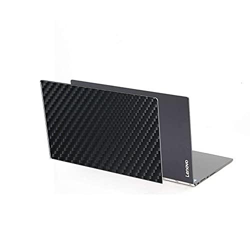 VacFun 2 Piezas Protector de pantalla Posterior, compatible con Lenovo YOGA BOOK 2016 10.1', Película de Trasera de Fibra de carbono negra Skin Piel