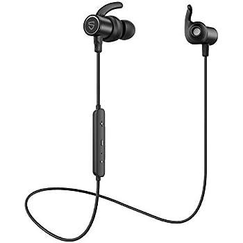 【進化版】【aptX HD & AAC 対応】SOUNDPEATS Q30 HD Bluetooth イヤホン 14時間連続再生 高音質 ワイヤレスイヤホン IPX7 防水 スポーツイヤホン QCC3034チップセット採用 CVC8.0ノイズキャンセリング搭載 ブルートゥース イヤホン サウンドピーツ Bluetooth ヘッドホン [IPX7防水証書取得済、メーカー1年保証] (Black)