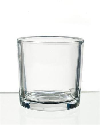 Espen Round Glass Pot 14cm