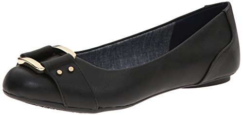 Dr. Scholl's Shoes womens Frankie ballet flats, Black Savory, 8 US