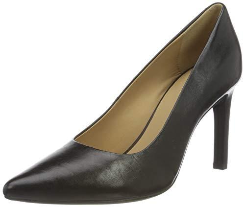 Geox D Faviola C, Zapatos de Tacón Para Mujer, Negro (Black)