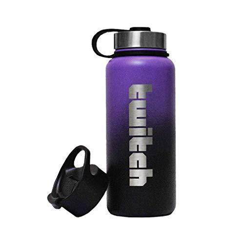 Twitch Wasserflasche 0,9 l (lila)