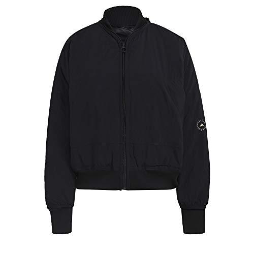adidas by Stella McCartney Woven Bomber Jacket Women's, Black, Size M