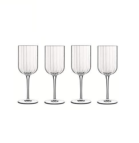 Bach - Copa para Vino Tinto (40 cl, Cristal, en Caja de Regalo, 4 Unidades), Transparente