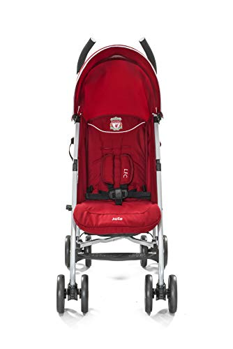 Joie Nitro LFC Umbrella Pushchair/Stroller, Red Crest Joie Sleek and lightweight umbrella chassis weighing just 7.52kg Suitable from birth with flat reclining seat SoftTouch, 5-point harness with shoulder covers 3