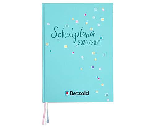 Betzold 757469 - Design-Schulplaner 2020/2021 Hardcover DIN A4 plus Lehrerkalender