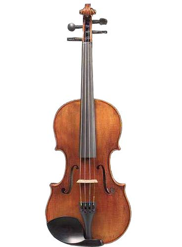 D Z Strad Violin LC101 with case, shoulder rest, bow, and rosin (7/8 - Size)