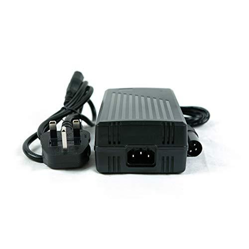 SLK Power Cargador de batería de 24 V, 8 A, para baterías recargables y sillas de ruedas. Conector de 3 pines apto para todas las baterías de plomo ácido, incluidas AGM y gel