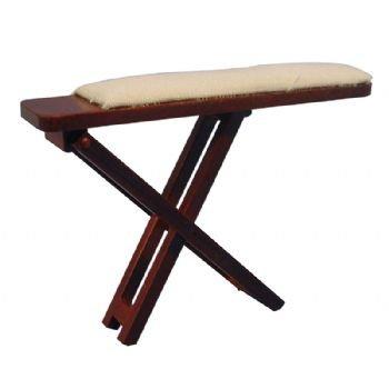 Bügelladen pour maison de bois avec textilauflage 1:12