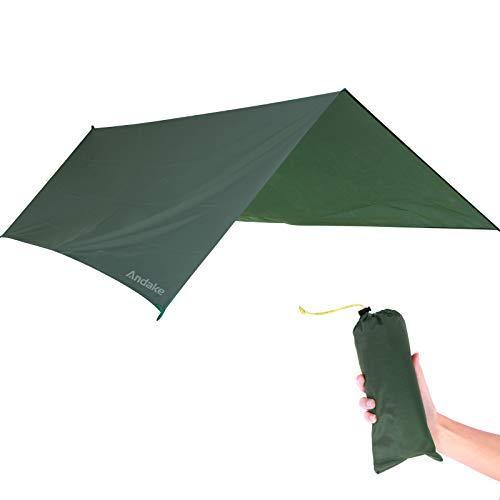 Andake Waterproof Camping Tarp Hiker Camping Tarp Ultralight Tent Footprint