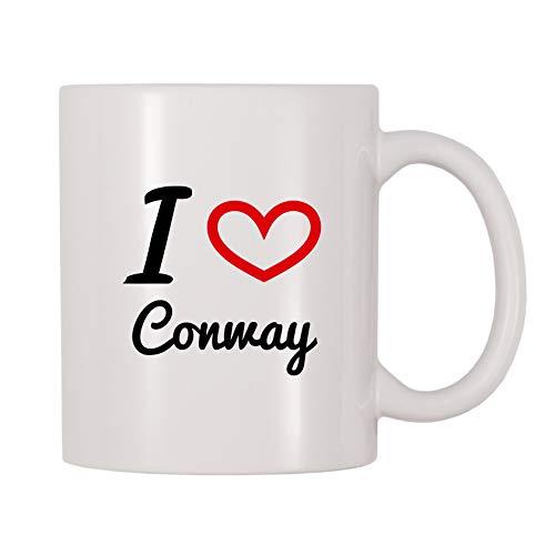 4 All Times I Love Conway Coffee Mug (11 oz)