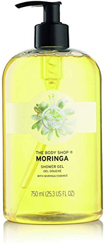 The Body Shop Duschgel - XXL 750ml - im Spender - MORINGA Shower Gel