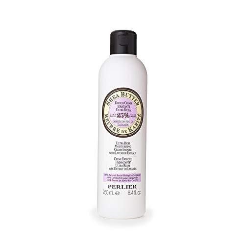 Perlier Shea Butter with Lavender Ultra Rich Bath Cream, 8.4 fl. oz.