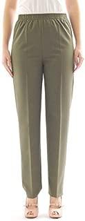 3//4 Donna Corto Culotte Pantaloni Da Donna Gamba Larga Pantaloni con elastico estensibile