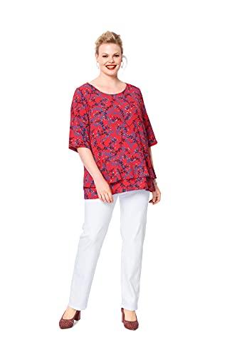 Burda 6105 Schnittmuster Bluse (Damen, Gr. 44-54) Level 2 leicht