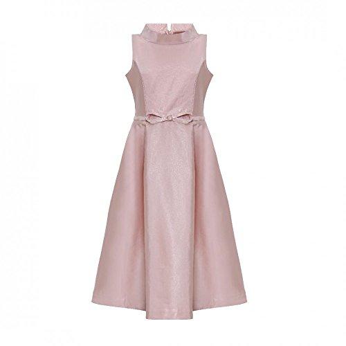 La-V Festliches Mädchenkleid Rosa/Größe 158