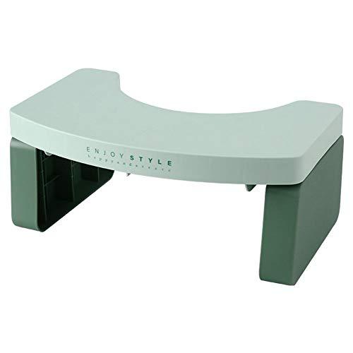 Toilettenhocke, rutschfest WC Hocker Klappbarer Toilettenhocker Toiletten Stuhl Für Eine Gesunde Haltung Auf Der Toilette Gegen Hämorrhoiden Verstopfung, Blähungen, Reizdarm