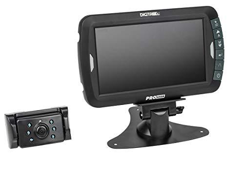 Pro-User DRC7010 20132 Digitales Funk-Rückfahrkamerasystem für 12V und 24V Systeme mit 7,0 Zoll Monitor und Nachtsichtkamera ohne Signalstörungen