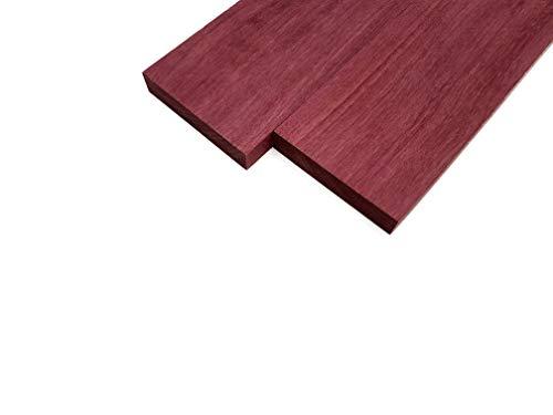Purpleheart Lumber Board - 3/4' x 4' (2 Pcs) (3/4' x 4' x 18')
