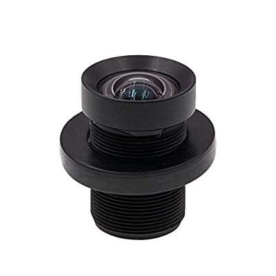 Cvivid Lenses 72 Degree 4.35mm 1/2.3 Inch Sensor 10MP M12 Lens No Distortion Replacement Lens for GoPro Hero 3+/4 Silver/Black, DJI Phantom 4/3/2, Xiaomi Yi and SJCAM Camera from Cvivid Lenses