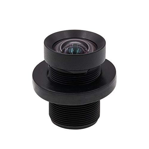 Cvivid Lenses 72 Degree 4.35mm 1/2.3 Inch Sensor 10MP M12 Lens No Distortion Replacement Lens for GoPro Hero 3+/4 Silver/Black, DJI Phantom 4/3/2, Xiaomi Yi and SJCAM Camera