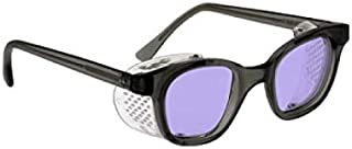 Polycarbonate Sodium Flare Glass Working Spectacles - Safety Frame with Permanent Side Shields