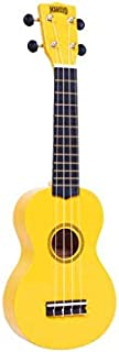 Mahalo Ukulele Soprano M1 Rainbow InchR Inch Series Yellow MR1YW With Bag