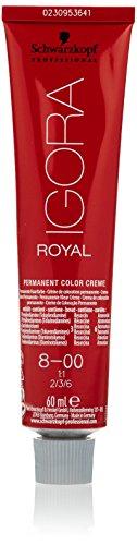 Schwarzkopf IGORA Royal Premium-Haarfarbe 8-00 hellblond natur extra, 1er Pack (1 x 60 g)