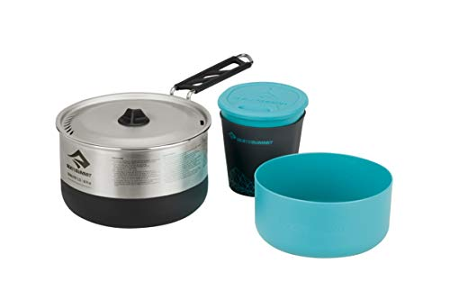 Sea to Summit Sigma Stainless Steel Camping Cook Set, Cookset 1.1