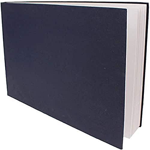 Artway Indigo - Handgefertigtes Skizzenbuch (150 g/m²) mit gebundenem Hartcover - A3 Querformat