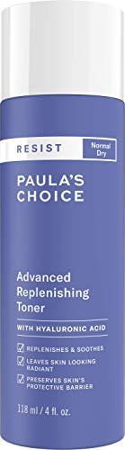 Paula's Choice Resist Anti-Aging Replenishing Toner - Huidherstellend, Kalmerend & Gaat Huidveroudering tegen - met Hyaluronzuur & Groene Thee Extract - Normale tot Droge Huid - 118 ml