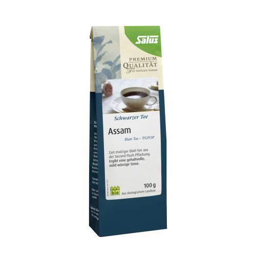 ASSAM schwarzer Tee Blatt-Tee TGFOP bio Salus 100 g