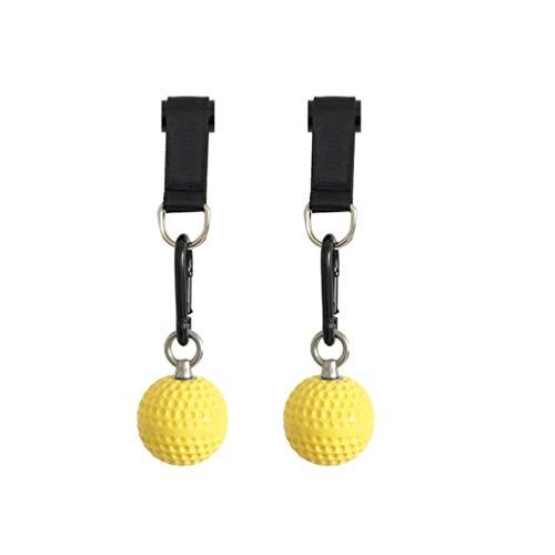 LIOOBO 1 Paar Hand- & Griffkraft Krafttrainer Handgelenk Kugel Armtrainer Pull-Ups Fitness Equipment Training Ball Handtrainer & Grip Strengthener
