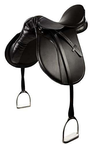 VS-Sattel Beauty, schwarz 17,5