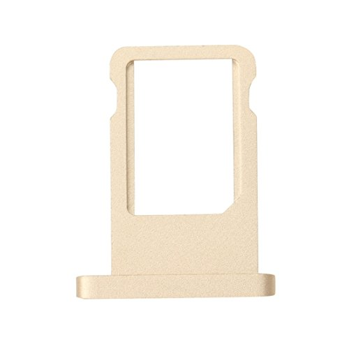 Inzelo Sim Card Slot Tray Holder Replacement for Apple iPad Air 2 (Gold)