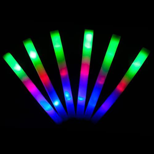 KUMUNDO - Bastoncini LED, Bastoncini LED per matrimoni, Barre luminose, Bastoncini luminosi per...