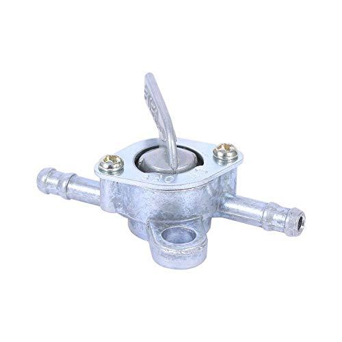Válvula de grifo del tanque de combustible en línea de 6MM Interruptor de encendido y apagado de la llave de paso Válvula del tanque de combustible INTERRUPTOR DE ENCENDIDO Y APAGADO EN LÍNEA Se adapt