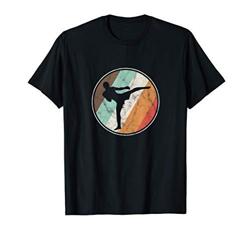 Kickboxen Retro Kampfkunst MMA Boxen Kampfsport Geschenk T-Shirt