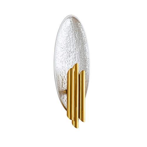 YXLMAONY Lámpara de pared de metal G9 de doble cabeza moderna, cuerpo de lámpara de hierro forjado, pantallas de lámpara de hierro, sala de estar interior, pasillo, estudio, mesita de noche, iluminaci
