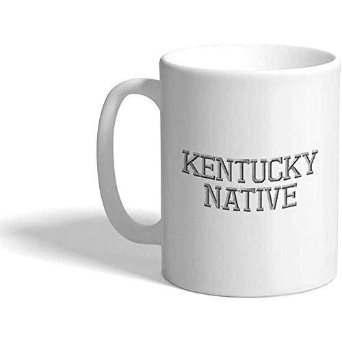 Gewohnheit Kaffeetasse 330 ml Keramischer Tee-Schalen-Entwurf Kentucky-gebürtigen Staates Amerika