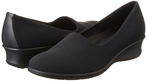 ECCO Felicia, Women's Loafers, Black/Black (BLACK/BLACK51052), 5.5 UK (38 EU)