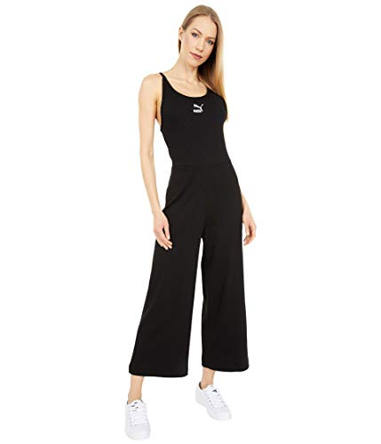 PUMA Classics Ribbed Jumpsuit Puma Black XL