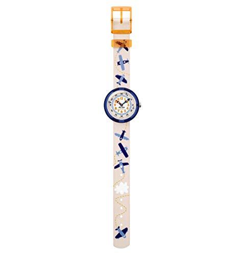 FlikFlak Jungen Analog Quarz Uhr mit Stoff Armband FBNP122